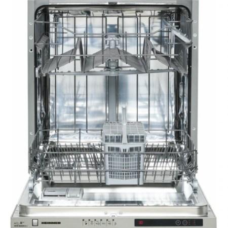 Masina de spalat vase incorporabila Heinner HDW-BI6006A++, 12 seturi, 6 programe, Clasa A++, Control electronic, Display LED, 60 cm