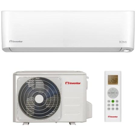 Aparat de aer conditionat Inventor King 9000 BTU Wi-Fi, Clasa A+++, Filtru Hepa, Follow me, Mod Eco, Senzor fotosensibil, K1VI32-09WiFi