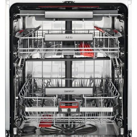 Masina de spalat vase incorporabila AEG FSK93807P, 13 seturi, 7 programe, Motor Inverter, AirDry, Comfort Lift, ProClean, Clasa A+++, 60 cm