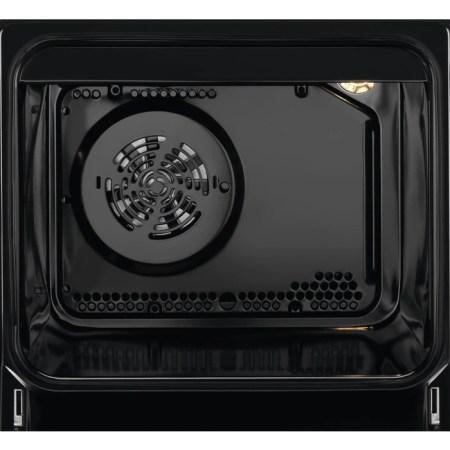Aragaz Electrolux EKK52950OK, Mixt, 4 arzatoare, Aprindere electrica plita, PlusSteam, 50 cm, Negru