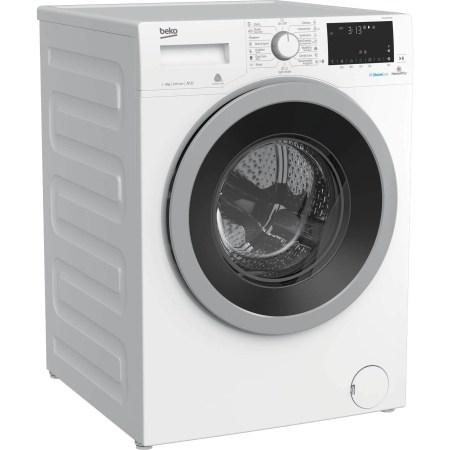 Masina de spalat rufe Beko WTV9636XS0, 9 kg, 1200 RPM, Clasa A+++, HomeWhiz, conectare Bluetooth, SteamCure, AddGarment, Motor ProSmart Inverter, 60 cm, Alb