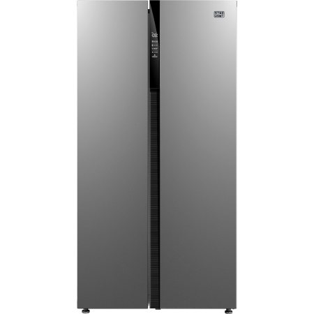 Side by Side Star-Light SSIM-510A++, 510l, Clasa A++, Display, Compresor Inverter, Total No frost, H 178cm, Inox