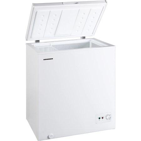 Lada frigorifica Heinner HCF-M142CA+, 142 l, Clasa A+, Sistem Convertibil Frigider/Congelator, Control mecanic, Winter Protection, Alb