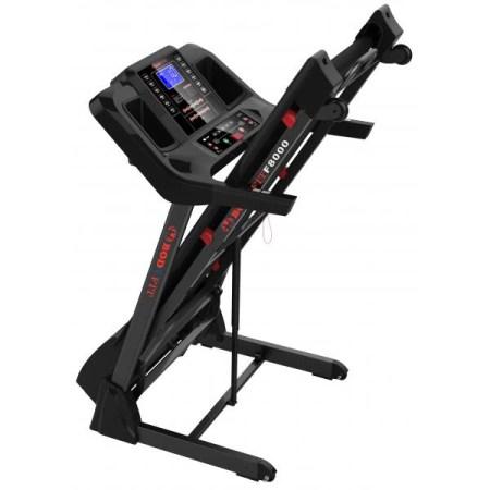 Banda de alergare electrica BodyFit F8000, motor 3.0 CP, viteza pana la 18 km /h, intrare USB si MP3