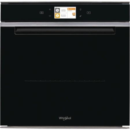 Cuptor incorporabil Whirlpool W11I OM1 4MS2 H, Electric, Autocuratare StarClean, 73 l, Clasa A+, 6th Sense, Conectivitate WiFi, BakeSense, Display TFT, Negru