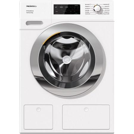 Masina de spalat rufe Miele WEG675 WPS, 9 kg, 1400 RPM, Clasa A+++, TwinDos, CapDosing, WiFi Conn@ct, Alb