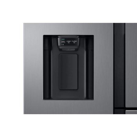 Side by side Samsung RS68N8650S9/EF, 608 l, Clasa A+, No Frost, Twin Cooling Plus, Compresor Digital Inverter, Display intern, Dispenser apa si gheata, Iluminare LED, H 178 cm, Inox