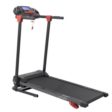 Banda de alergare TECHFIT MT95, Putere Maxima 2.5 CP, Greutate utilizator 110 Kg, Bluetooth, Aplicatii, 16 Programe antrenament, Suprafata de alergare 100 x 40 cm