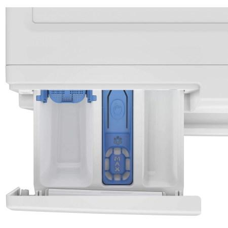 Masina de spalat rufe cu uscator Beko HTV8636XS0, Spalare 8 kg, Uscare 5 kg, 1200 RPM, HomeWhiz,SteamCure, IonGuard, Clasa A, Motor ProSmart Inverter, Wash & Wear, BabyProtect,Downloaded Cycle, Alb