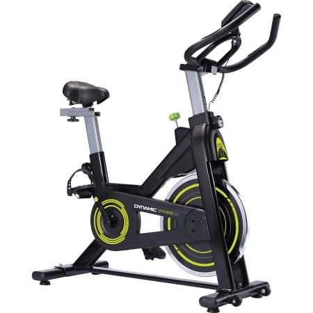 Bicicleta spinning DYNAMIC V2, volanta 6 kg, greutate maxima utilizator 100 kg