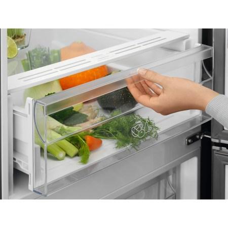 Combina frigorifica Electrolux LNT5MF32U0, 324 l, Touch Control, Clasa A+, H 186 cm, Inox