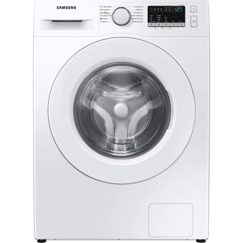 Masina de spalat rufe Samsung WW90T4020EE/LE, 9 kg, 1200 RPM, Clasa D, Steam, Smart Check, Drum Clean, Motor Digital Inverter, Alb