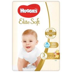 Scutece Huggies Elite Soft 3, 5-9 kg, 80 buc