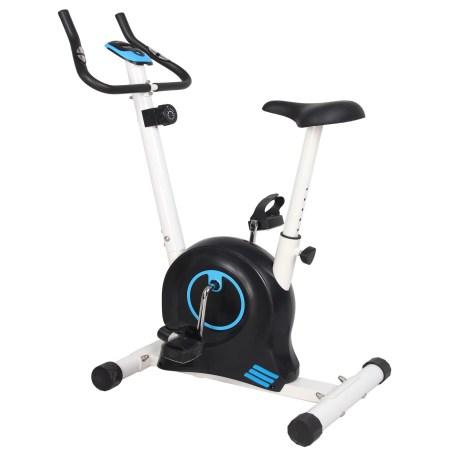 Bicicleta magnetica FitTronic 505B, volanta 5kg, greutate suportate 110kg, 8 trepte de reglare rezistenta la pedalare