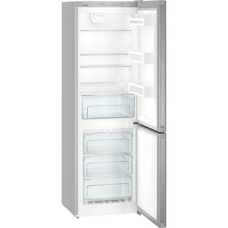 Combina frigorifica Liebherr Confort DNml 43X13, 304 l, Clasa A++, No Frost, H 186.1 cm, Inox antiamprenta