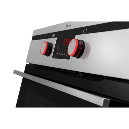 Cuptor incorporabil Hansa Integra BOEI60475, Electric, 65 l, Autocuratare catalitica, Grill, Rotisor, Display, Clasa A, Inox
