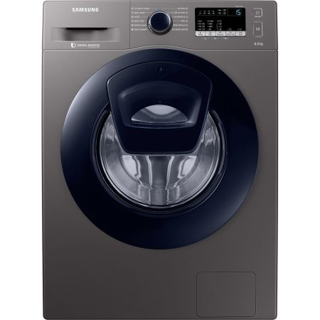 Masina de spalat rufe Samsung Add Wash WW80K44305X/LE, 8 kg, 1400 RPM, Clasa A+++, Motor Digital Inverter, Display LED, Smart Check, Inox
