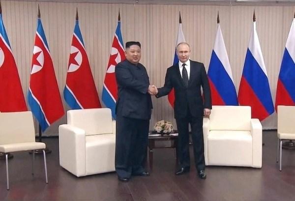 Ким Чен Ын уехал из России