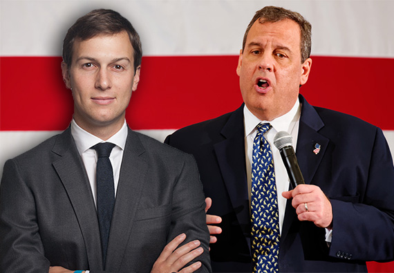 Jared Kushner and Chris Christie