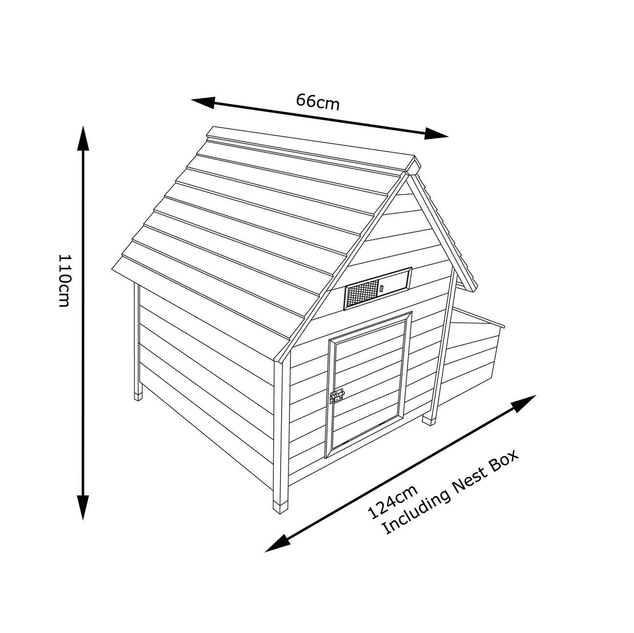 Cocoon Chicken Hen House Coop Poultry Ark Run Brand New