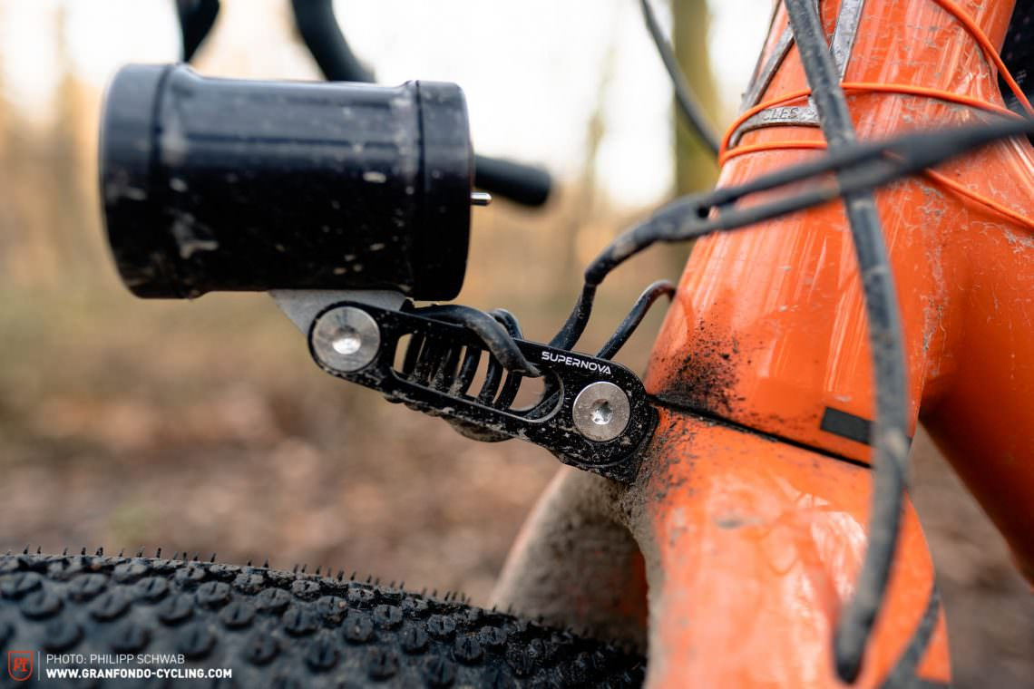 sinewave cycles beacon front light in