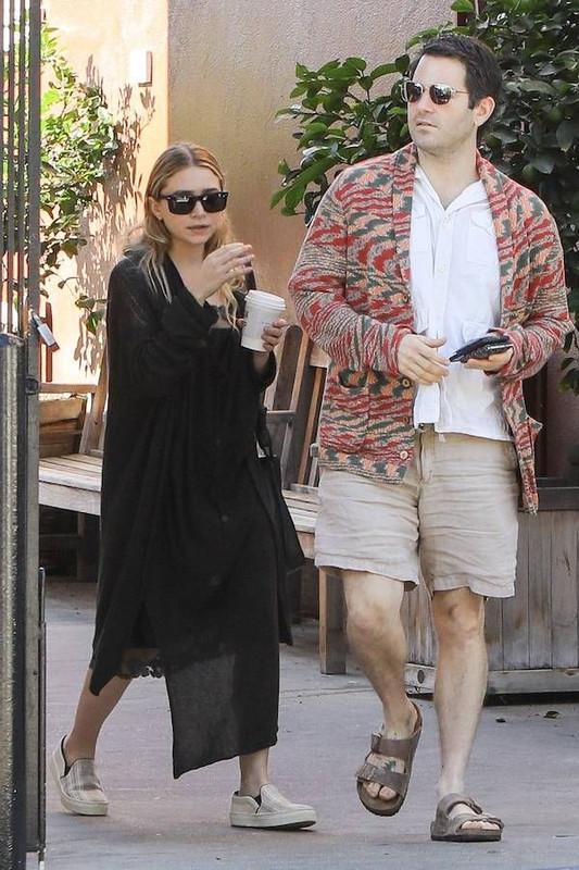 Ashley with her boyfriend Louis Eisner