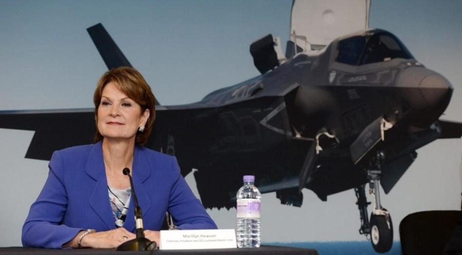 Lockheed Martin CEO Hewson