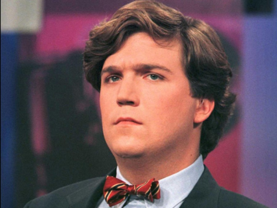 Tucker Carlson in his early days