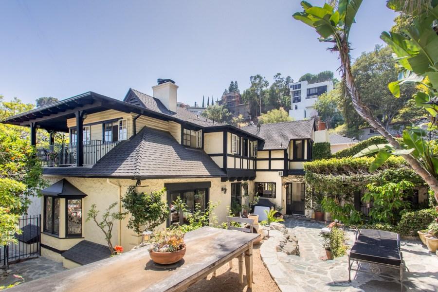 Rachel's house in Los Angeles
