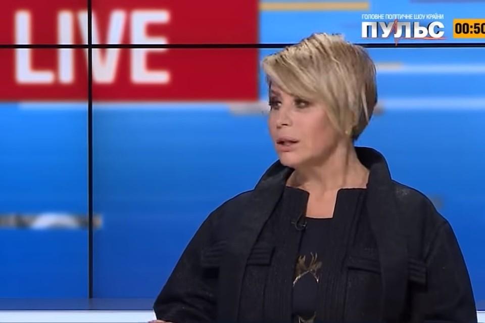 The former deputy of the Verkhovna Rada Anna German
