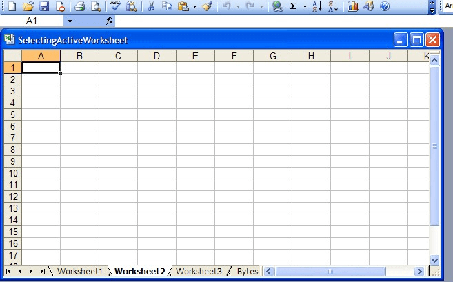 Set Active Worksheet Selected By Default In Generated