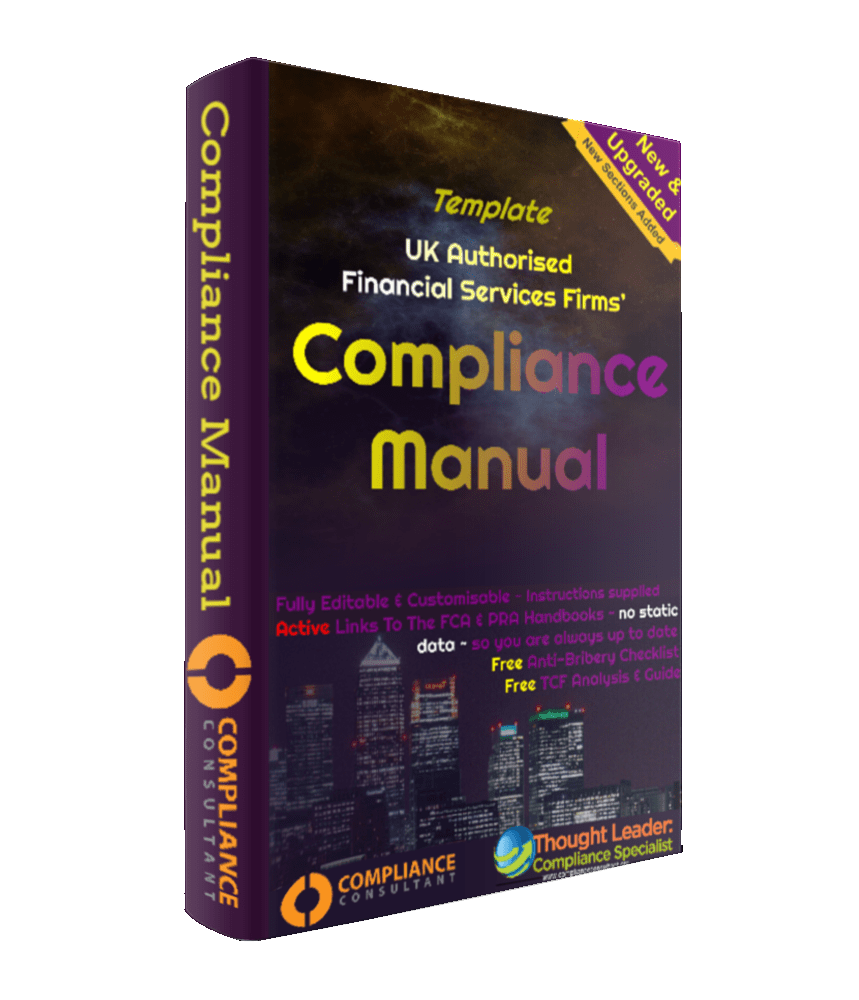 Template Compliance Manual S166 Skilled Persons Reports