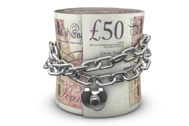 Padlocked £50 Notes, Additional Restrictions Grant Concept
