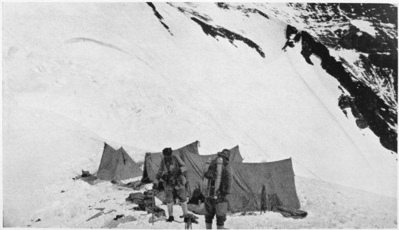 la última foto de Mallory e Irvine antes de desaparecer en el Everest