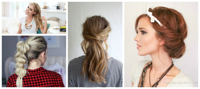 8 quick & easy hairstyles that make dirty hair look fab