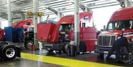 Image result for truck maintenance shop