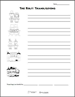 Free Printable Thanksgiving Sequencing Worksheets