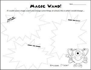 Free Printable If I Had A Magic Wand