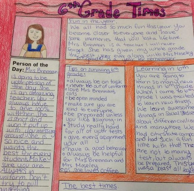How To Make Every Grade More Like >> 30 End Of Year Assignments And Activities For Every Grade