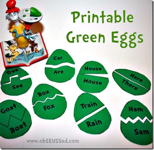 green eggs and ham topic and meaning # 34