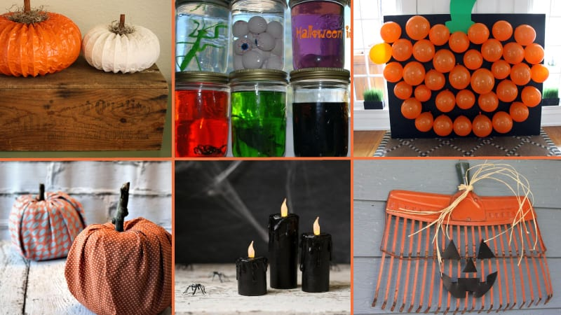 Spooky Cheap Halloween Decorations For Teachers On A Budget