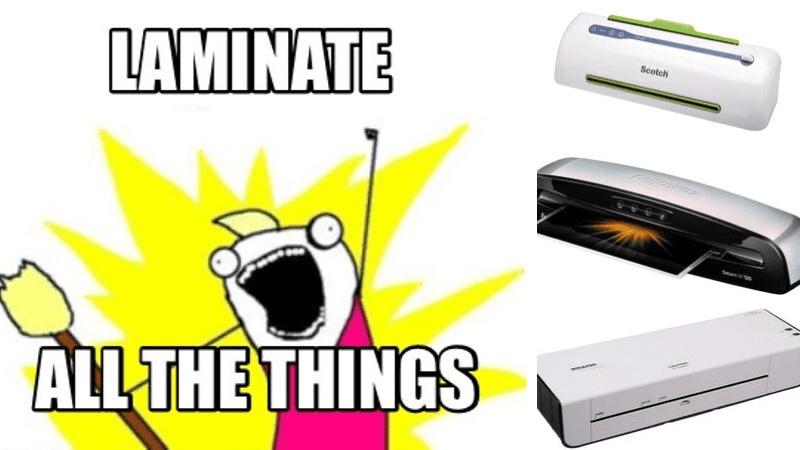 best laminators for teachers