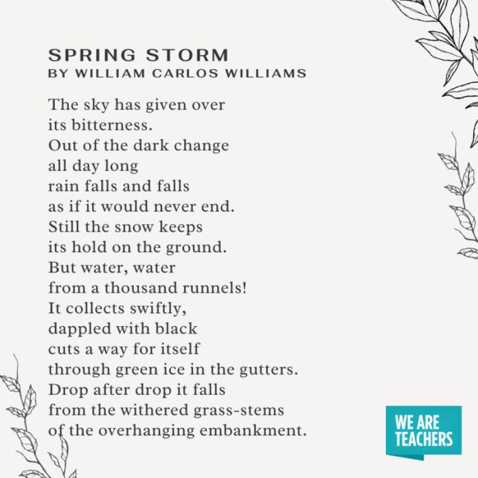 Spring (Again) by Michael Ryan