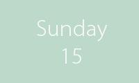 15 sunday