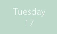 17 Tuesday