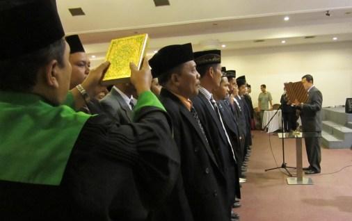 Ketua KPU Tulungagung Lantik 95 Anggota PPK