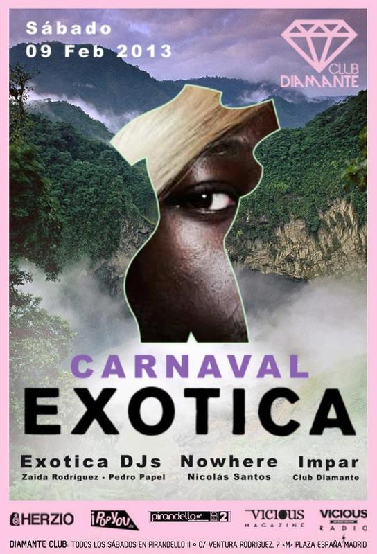 diamante carnaval exotica