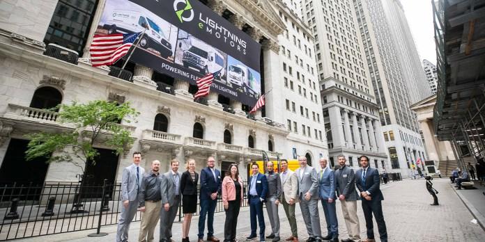 Lightning eMotors Team Rings Opening Bell At NYSE - aftermarketNews
