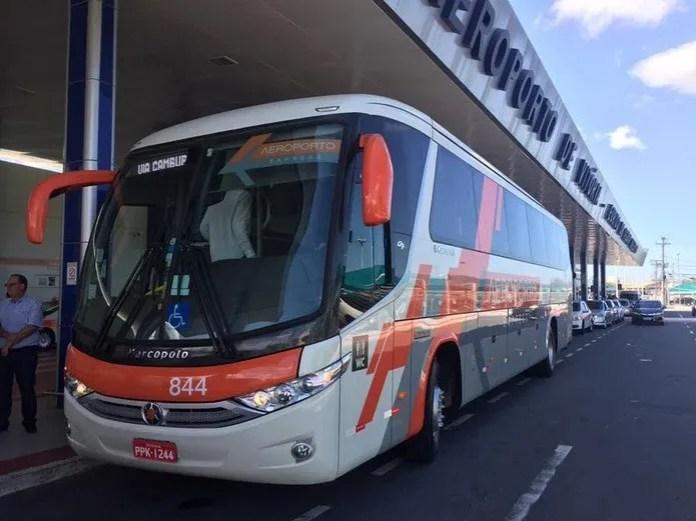 Linha 'Aeroporto - Guarapari' ganha novos ônibus e horários — Foto: Divulgação/ Setur-ES