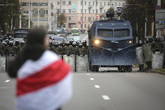 Scanpix / AP photo / Protest in Belarus
